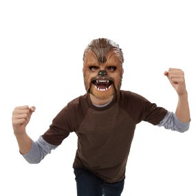 Star Wars Chewbacca Mask - Star Wars Dress Up For Boys - The Ultimate Costume Collection for the young Star Wars lover in your life! Check out the huge variety of kid sized Star Wars Costumes at www.kidslovedressup.com!
