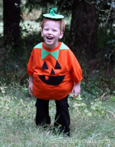 25 fun and easy halloween diy costumes for kids how about a fun diy jack o lantern costume scary or goofy smiley or sad have fun with it check out instructions at dollar store crafts solutioingenieria Images