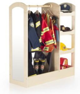 Guidecraft See And Store Dress Up Storage Unit