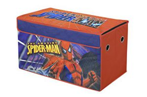 Collapsible Storage Trunk for Boys - Spiderman!