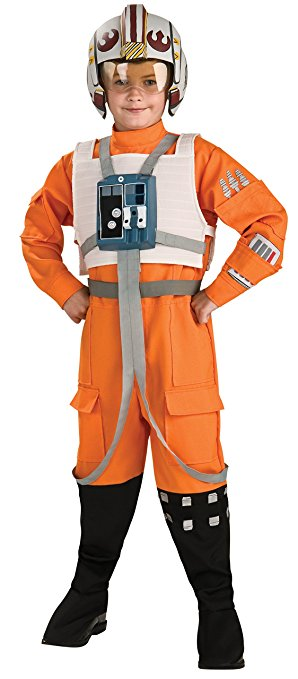 X-Wing Pilot Costume For Boys - Star Wars Dress Up