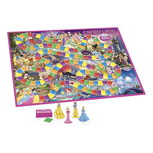 Gifts for 4 year old girls - Candyland, Princess Version!