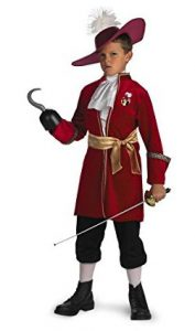 Captain Hook Costume for World Book Day