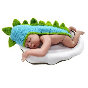 Baby Costume Hats: This Baby Dinosaur Hat is perfect for an infant photo shoot!