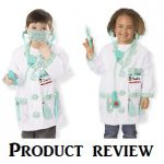 Product Review by an actual customer - the Melissa and Doug Doctor Role Play Costume Set