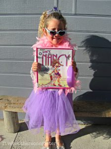 Fancy Nancy Costume for World Book Day
