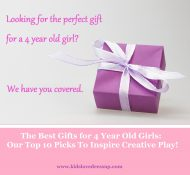 The Best Gifts for 4 year old girls: Top 10 Picks to Inspire Creative Play! www.kidslovedressup.com