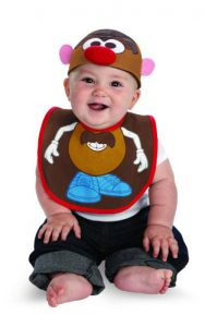 Mr. Potato Head Baby Hat and Bib!