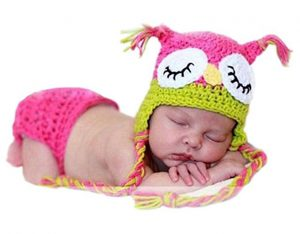 Baby Costume Hats: Cutest little owl hat you ever did see!