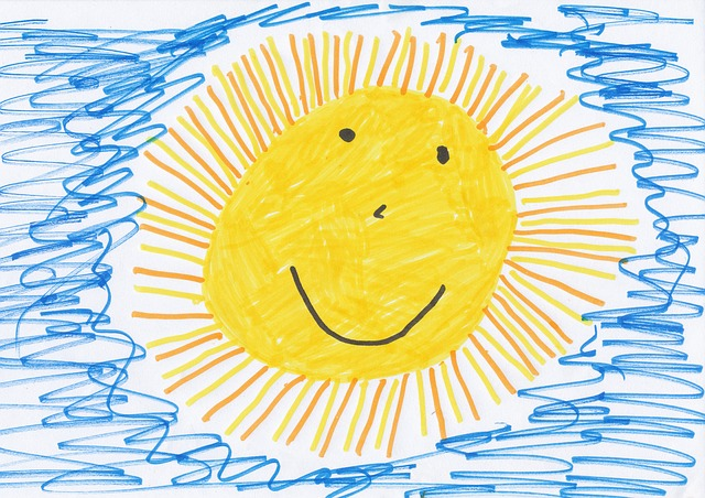 Brighten someone's day by drawing them a picture! Activities for 4 year olds - www.kidslovedressup.com