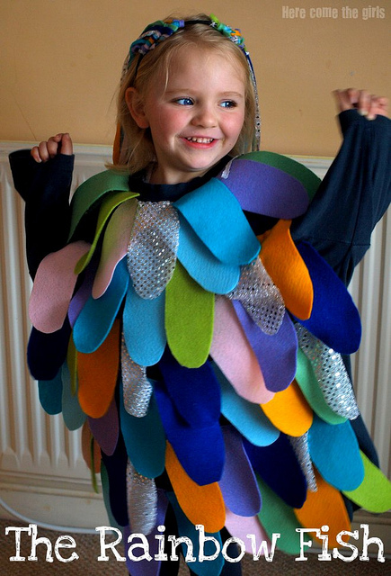 The Rainbow Fish - World Book Day Kids Costumes