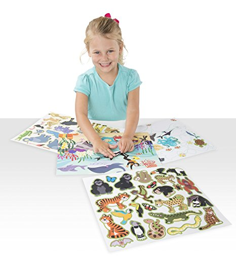 Activities for 4 Year Olds - Reusable Sticker Pads