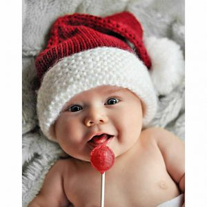 Baby Costume Hats - Santa Hat