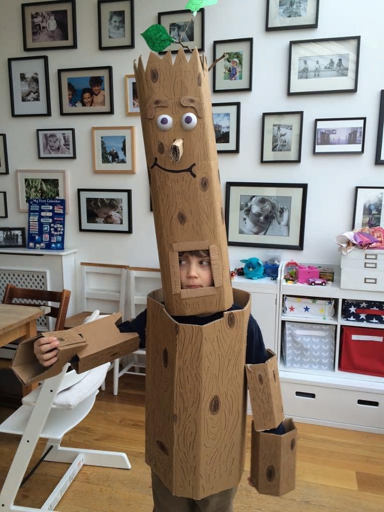World Book Day Kids Costumes - Stick Man idea