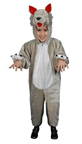 The Big Bad Wolf - Such a fun idea for a World Book Day Kids Costume!
