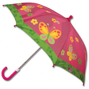 A girlish umbrella makes a great gift for a 4 year old girl!