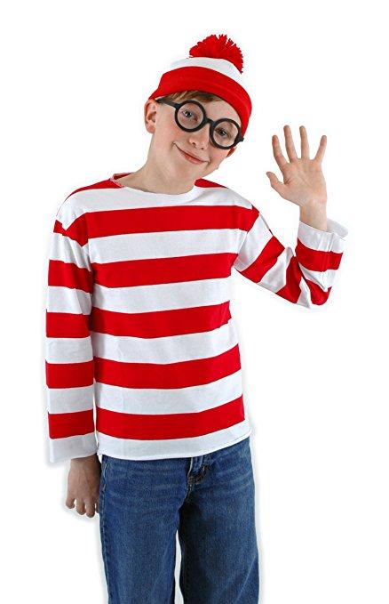 Waldo - World Book Day Kids Costume Idea!