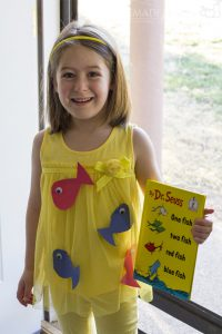 One Fish Two Fish - Dr. Seuss Costume Ideas for Kids