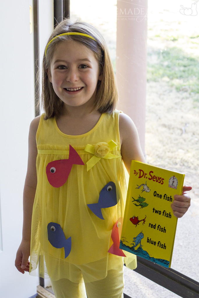 One Fish Two Fish - Dr. Seuss Costume Ideas for Kids: 10 DIY, 10 to Buy!