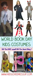 World Book Day Kids Costumes - 10 To DIY, 10 To Just Buy
