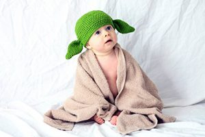 Baby Costume Hats: Yoda Baby Hat!