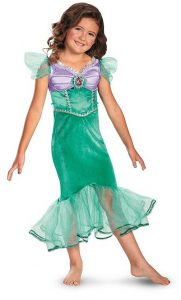Ariel Sparkle Classic Kids Costume by Disguise - one of the most popular mermaid costumes for girls!