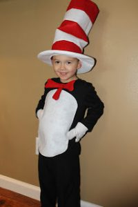 Dr. Seuss Costume Ideas for Kids - Cat In The Hat Costumes for Kids