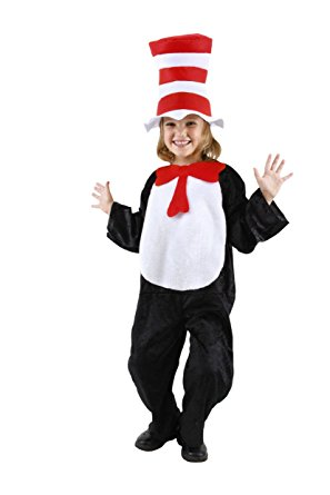Cat In The Hat Costumes For Kids - this is the full body, all accessories included set.
