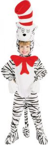 Cat in the hat costume for kids