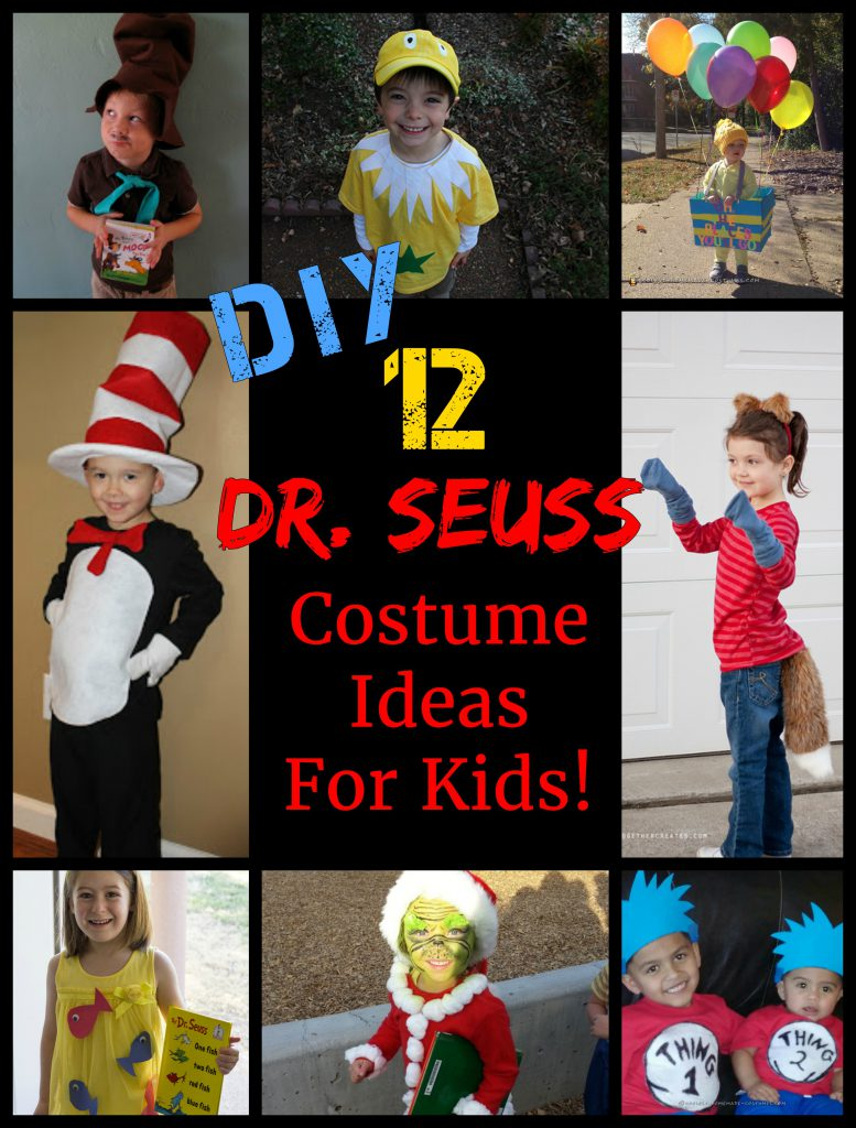 12 Awesome DIY Dr. Seuss Costume Ideas For Kids by www.kidslovedressup.com