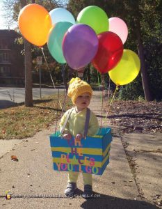 Oh The Places You'll Go - Dr. Seuss Costumes Ideas for Kids