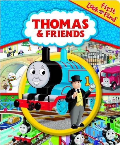 Thomas & Friends First Look & Find: Great gifts for 2 year old boys