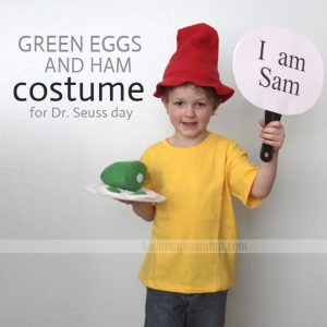Dr. Seuss Costume Ideas for Kids - Green Eggs And Ham