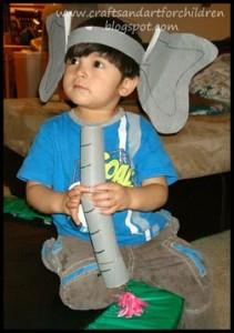 Dr. Seuss Costume Ideas For Kids - Horton Hears A Who!