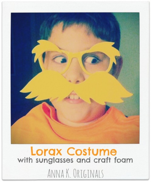 The Lorax - DIY Dr. Seuss Costumes For Kids