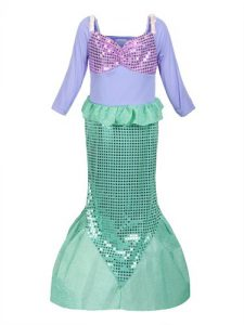 Mermaid Costume - The Best Halloween Costumes for Girls for 2017 - see 10 of the most popular girls costumes for Halloween this year! Kids dress up, costumes kids, girls dress up costumes, Halloween costumes