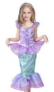 JiaDuo Kids Girls' Princess Mermaid Dress Party Costume - Mermaid Costumes for Girls on www.kidslovedressup.com