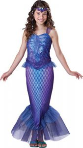 InCharacter Costumes Tween Mysterious Mermaid Costume - gorgeous purple mermaid costume for older girls - www.kidslovedressup.com