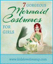 7 Gorgeous Mermaid Costumes For Girls - www.kidslovedressup.com