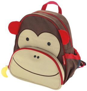Monkey Backpacks are much loved gifts for 2 year old boys!