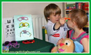 Optometrist Office Dramatic Play