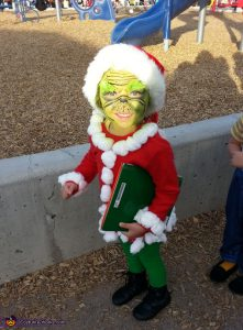 Dr. Seuss Costume Ideas For Kids - The Grinch