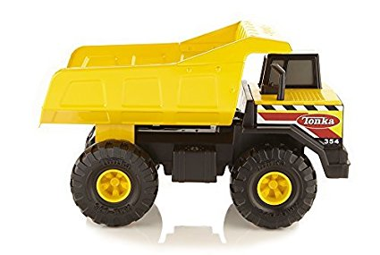 Big steel Tonka Trucks are great gifts for 2 year old boys!