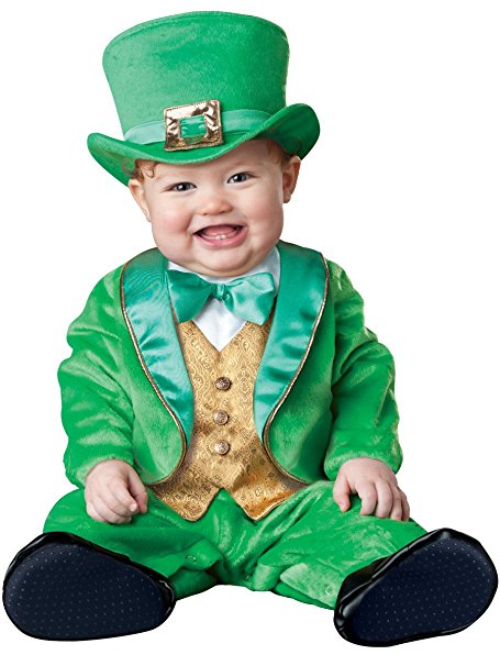 Leprechaun Costumes for Kids - The baby leprechaun costume is ADORABLE!! St. Patricks Day Costumes for Kids - www.kidslovedressup.com