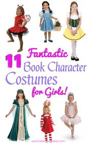 11 Fantastic Book Character Costumes For Girls! Kidslovedressup.com!