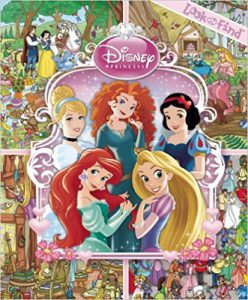 Great gifts for 3 year old girls! Disney Princess Look & Find
