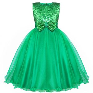 Kids St. Patrick's Day Dress Up - Why not go with a pretty green princess gown?
