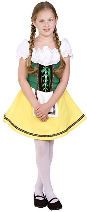 Gretel costume or Heidi ostume? Great for a girls book character outfit idea!