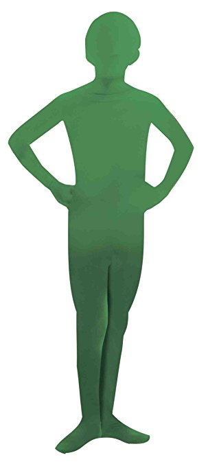 Green Mr. Invisible Man - costumes for kids for St. Patrick's Day!