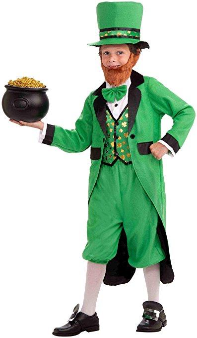 Full Leprechaun Costume For Child - St. Patrick's Day Costumes For Kids! www.kidslovedressup.com